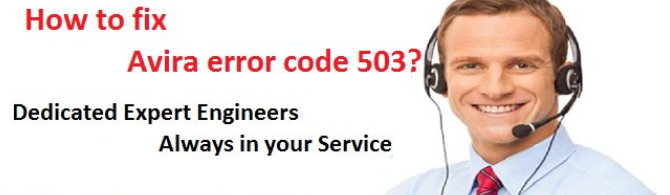 Avira Error 503 – Why It Occurs and Fix Them With Experts